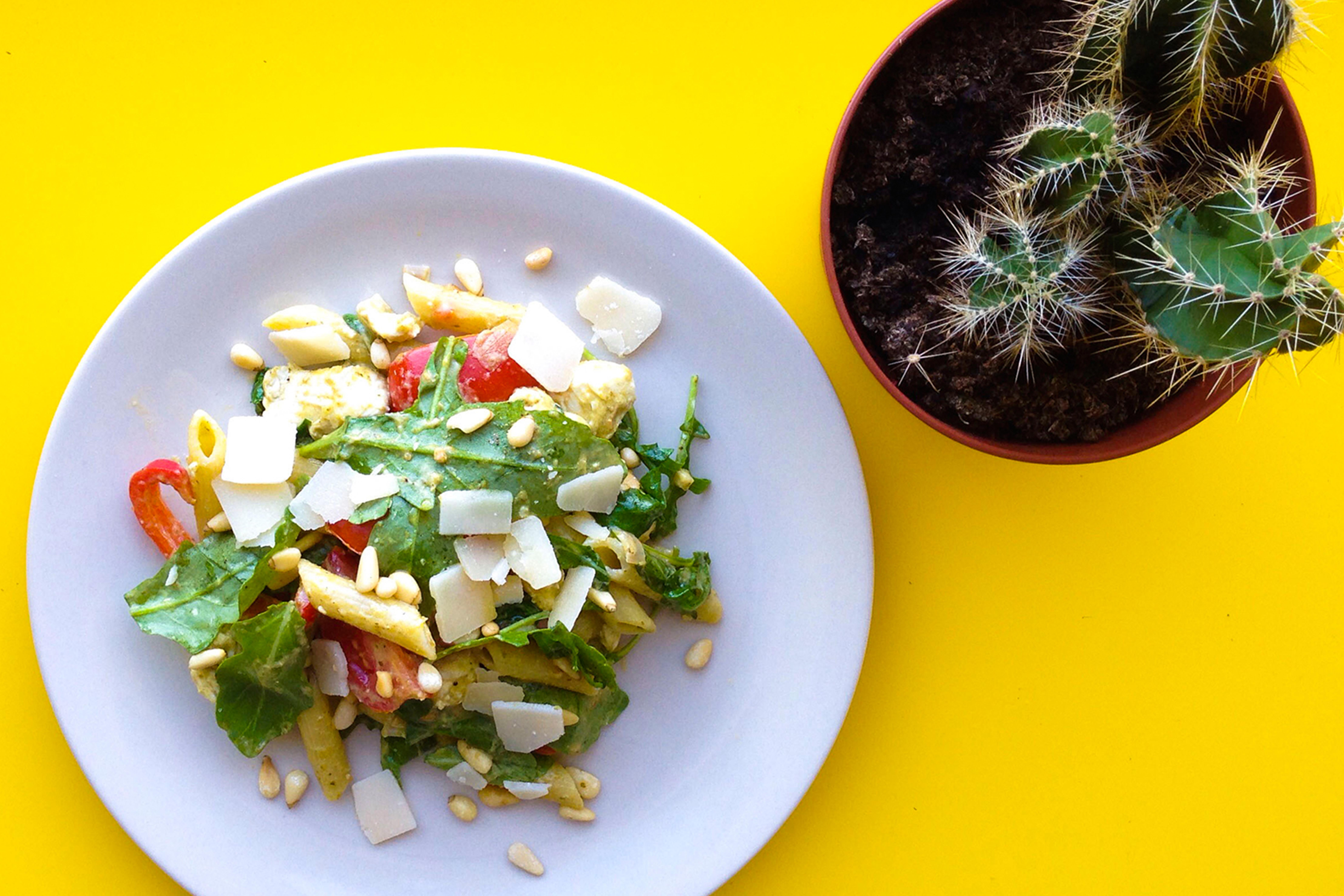 Foodmelodies pasta pesto