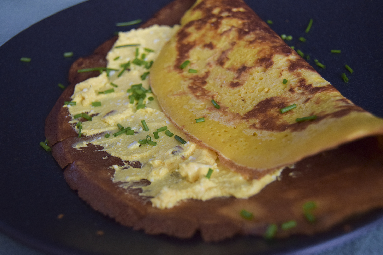 Foodmelodies chickpeas-tumeric pancake