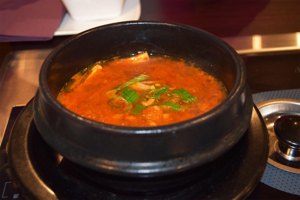 Mokbar Kimchi soup