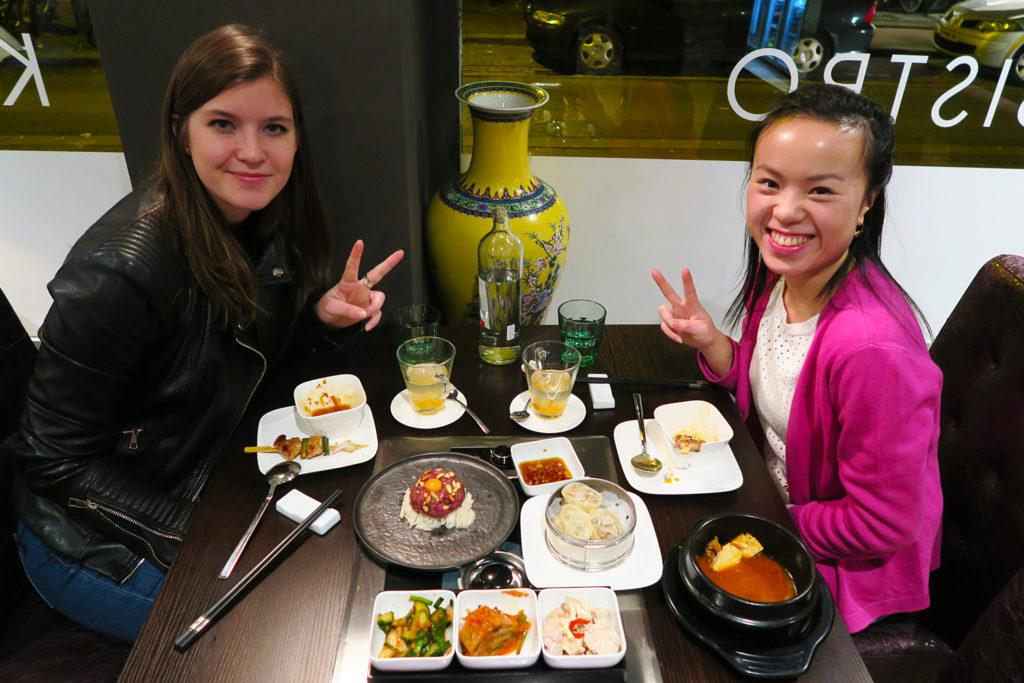 Mokbar diner met Yukwan van Yukieblog