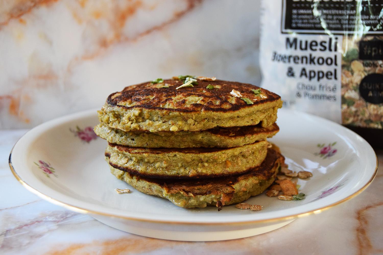 Foodmelodies kale pancakes