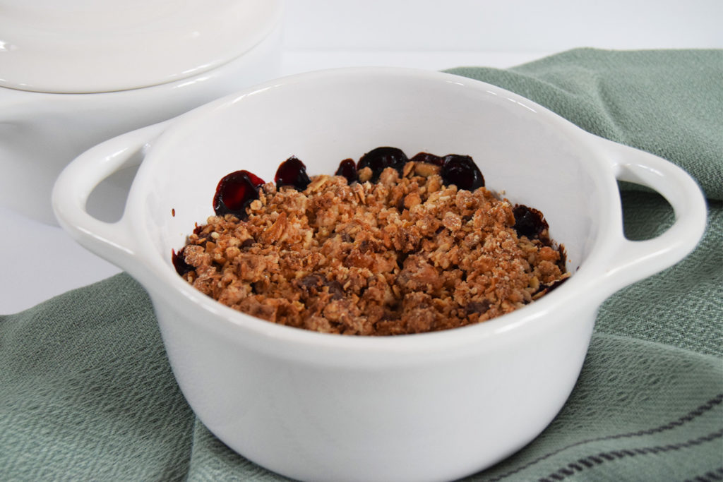 Foodmelodies granola crumble
